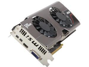MSI Radeon HD 7950 3GB GDDR5 PCI Express 3.0 x16 CrossFireX Support Video Card R7950 TF 3GD5 BE
