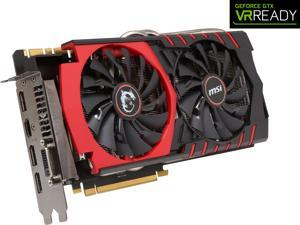 MSI GeForce GTX 980 DirectX 12 GTX 980 GAMING 4G LE 4GB 256-Bit GDDR5 HDCP Ready SLI Support ATX Video Card