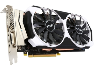 MSI GeForce GTX 960 2GB GDDR5 PCI Express 3.0 x16 SLI Support ATX Video Card GTX 960 2GD5T OC