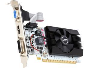 MSI GeForce GT 730 DirectX 12 N730K-2GD5LP/OC 2GB 64-Bit GDDR5 PCI Express 2.0 x16 HDCP Ready Video Card