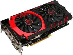 MSI Radeon R9 380 DirectX 12 R9 380 GAMING 4G LE 4GB 256-Bit GDDR5 HDCP Ready CrossFireX Support ATX Video Card