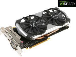 MSI GeForce GTX 970 4GB GDDR5 PCI Express 3.0 x16 SLI Support ATX G-SYNC Support Video Card GTX 970 4GD5T Titanium OC