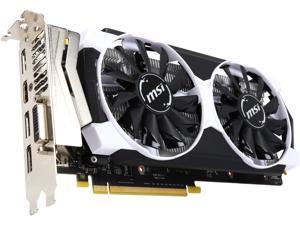 MSI GeForce GTX 950 DirectX 12 GTX 950 2GD5T OC 2GB 128-Bit GDDR5 PCI Express 3.0 x16 HDCP Ready SLI Support ATX ARMOR 2X Video Card