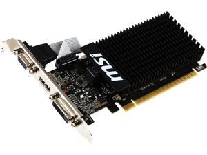 MSI GeForce GT 710 DirectX 12 GT 710 1GD3H LP 1GB 64-Bit DDR3 PCI Express 2.0 x16 HDCP Ready Low Profile Video Card