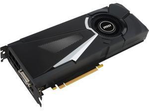 MSI GeForce GTX 1080 8GB GDDR5X PCI Express 3.0 x16 SLI Support ATX Video Card GTX 1080 AERO 8G OC