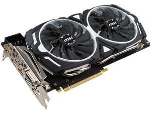 MSI GeForce GTX 1070 DirectX 12 GTX 1070 ARMOR 8G OC 8GB 256-Bit GDDR5 PCI Express 3.0 x16 HDCP Ready SLI Support ATX Video Card