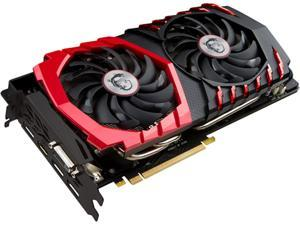 MSI GeForce GTX 1070 DirectX 12 GTX 1070 GAMING 8G 8GB 256-Bit GDDR5 PCI Express 3.0 x16 HDCP Ready SLI Support ATX Video Card