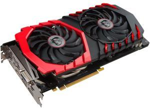 MSI GeForce GTX 1060 DirectX 12 GTX 1060 GAMING X 6G 6GB 192-Bit GDDR5 PCI Express 3.0 x16 HDCP Ready ATX Video Card