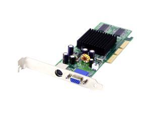EVGA GeForce MX4000 DirectX 7 128-A8-NV96-LX 128MB 64-Bit DDR AGP 4X/8X Low Profile Video Card