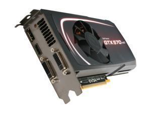EVGA 012-P3-1571-KR GeForce GTX 570 HD w/Display-Port (Fermi) 1280MB 320-bit GDDR5 PCI Express 2.0 x16 HDCP Ready SLI Support Video Card