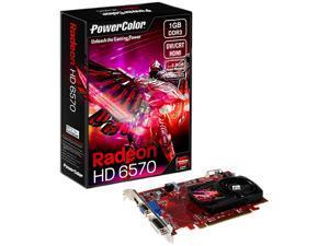 PowerColor Go! Green Radeon HD 6570 1GB DDR3 PCI Express 2.1 x16 CrossFireX Support Video Card AX6570 1GBK3-HEV2