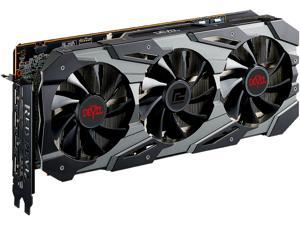 PowerColor RED DEVIL Radeon RX 5700 XT DirectX 12 AXRX 5700 XT 8GBD6-3DHE/OC 8GB 256-Bit GDDR6 PCI Express 4.0 CrossFireX Support ATX Video Card