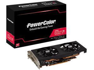 PowerColor Radeon RX 5500 XT 4GB GDDR6 PCI Express 4.0 CrossFireX Support ATX Video Card AXRX 5500XT 4GBD6-DH/OC