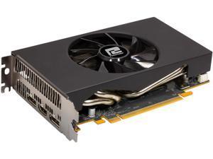 PowerColor Radeon RX 5600 XT DirectX 12 AXRX 5600XT ITX 6GBD6-2DH 6GB 192-Bit GDDR6 PCI Express 4.0 CrossFireX Support ITX Video Card