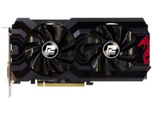 PowerColor RED DRAGON Radeon RX 570 DirectX 12 AXRX 570 4GBD5-DHDV3/OC 4GB 256-Bit GDDR5 PCI Express 3.0 CrossFireX Support ATX Video Card