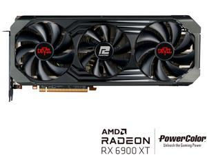 PowerColor Red Devil AMD Radeon RX 6900 XT Gaming Graphics Card with 16GB GDDR6 Memory, Powered by AMD RDNA 2, Raytracing, PCI Express 4.0, HDMI 2.1, AMD Infinity Cache, AXRX 6900XT 16GBD6-3DHE/OC