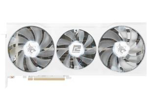 PowerColor Hellhound Spectral White AMD Radeon RX 6700 XT Gaming Graphics Card with 12GB GDDR6 Memory, Powered by AMD RDNA 2, HDMI 2.1 (AXRX 6700XT 12GBD6-3DHLV2)