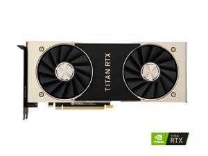 NVIDIA TITAN RTX DirectX 12 900-1G150-2500-000 SB 24GB 384-Bit GDDR6 PCI Express 3.0 x16 HDCP Ready Video Card