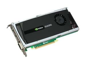 PNY Quadro 4000 VCQ4000-PB 2GB 256-bit GDDR5 PCI Express 2.0 x16 Workstation Video Card