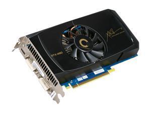 PNY XLR8 VCGGTX4601XPB-OC GeForce GTX 460 (Fermi) OC 1GB 256-bit GDDR5 PCI Express 2.0 x16 HDCP Ready SLI Support Video Card