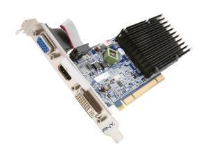 PNY GeForce 8400 GS DirectX 10 VCG84512D3SPPB 512MB 64-Bit DDR3 PCI HDCP Ready Low Profile Video Card