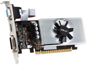 PNY GeForce GT 730 DirectX 12 VCGGT7301D5LXPB 1GB 64-Bit GDDR5 PCI Express 2.0 x16 Low Profile Ready Video Card