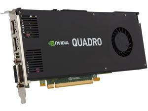 PNY Quadro K4200 VCQK4200-PB 4GB 256-bit GDDR5 PCI Express 2.0 x16 Workstation Video Card