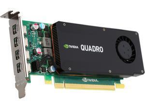 PNY Quadro K1200 VCQK1200DVI-PB 4GB 128-bit GDDR5 PCI Express 2.0 ATX or SFF Workstation Video Card for DVI
