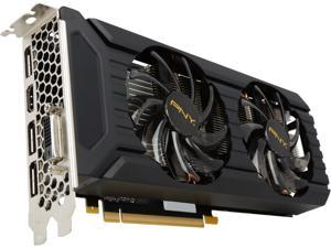 PNY GeForce GTX 1060 6GB GDDR5 PCI Express 3.0 x16 Video Card VCGGTX10606PB