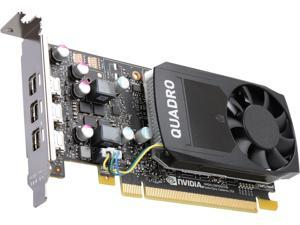 PNY Quadro P400 VCQP400-PB 2GB 64-bit GDDR5 PCI Express 3.0 x16 Low Profile Video Cards - Workstation