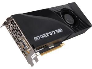 PNY GeForce GTX 1080 DirectX 12 VCGGTX10808PB 8GB 256-Bit GDDR5X PCI Express 3.0 x16 Blower Edition Video Card