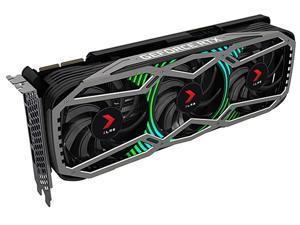 PNY GeForce RTX 3090 24GB XLR8 Gaming EPIC-X RGB Triple Fan Graphics Card, VCG309024TFXPPB