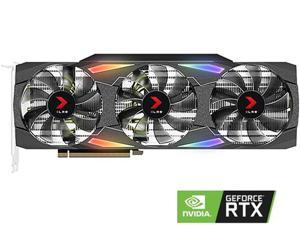 PNY GeForce RTX 3090 24GB XLR8 Gaming EPIC-X RGB Triple Fan Graphics Card, VCG309024TFXMPB