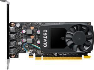 PNY Quadro P1000 VCQP1000V2-PB 5GB 128-bit GDDR5 PCI Express 3.0 x16 Low Profile Video Cards - Workstation