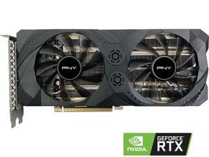 PNY GeForce RTX 3060 Ti 8GB UPRISING Dual Fan Graphics Card, VCG3060T8DFMPB