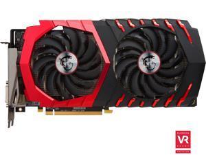 MSI Radeon RX 480 DirectX 12 RX 480 GAMING 8G 8GB 256-Bit GDDR5 PCI Express 3.0 x16 HDCP Ready CrossFireX Support Video Card