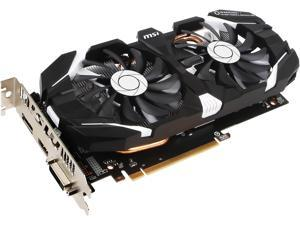 MSI GeForce GTX 1060 DirectX 12 GTX 1060 6GT OCV1 6GB 192-Bit GDDR5 PCI Express 3.0 x16 HDCP Ready ATX Video Card