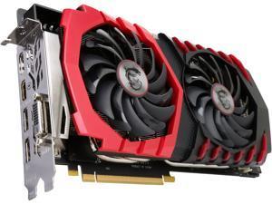 MSI GeForce GTX 1080 8GB GDDR5X PCI Express 3.0 x16 SLI Support ATX Video Card GTX 1080 GAMING X 8G
