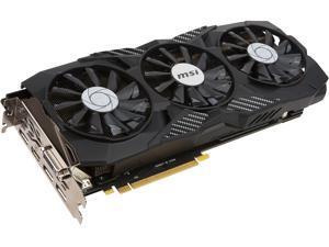 MSI GeForce GTX 1080 DirectX 12 GTX 1080 DUKE 8G OC 8GB 256-Bit GDDR5X PCI Express 3.0 x16 HDCP Ready SLI Support Video Cards