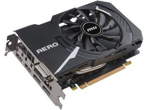 MSI GeForce GTX 1060 DirectX 12 GTX 1060 AERO ITX 6G OC 6GB 192-Bit GDDR5 PCI Express 3.0 x16 HDCP Ready Video Card