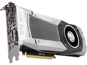 MSI GeForce GTX 1070 FE 8GB GDDR5 PCI Express 3.0 x16 SLI Support ATX Video Card GEFORCE GTX 1070 FOUNDERS EDITION
