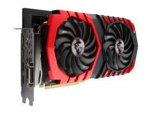 MSI Radeon RX 580 8GB GDDR5 PCI Express x16 CrossFireX Support Video Card RX 580 GAMING X+ 8G