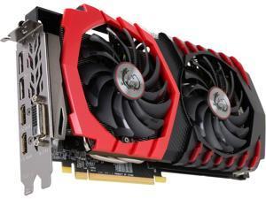 MSI Radeon RX 580 8GB GDDR5 PCI Express x16 CrossFireX Support Video Card RX 580 GAMING X 8G