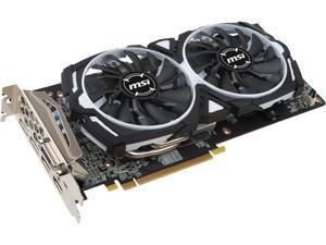 MSI Radeon RX 580 4GB GDDR5 PCI Express x16 CrossFireX Support Video Card RX 580 ARMOR 4G OC