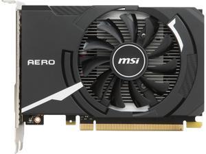 MSI GeForce GT 1030 DirectX 12 GT 1030 AERO ITX 2G OC 2GB 64-Bit GDDR5 PCI Express 3.0 x16 (uses x4) HDCP Ready ATX Video Card