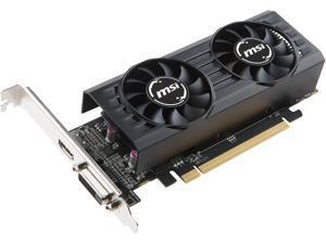 MSI Radeon RX 550 DirectX 12 RX 550 2GT LP OC 2GB 128-Bit GDDR5 PCI Express x16 (uses x8) HDCP Ready Low Profile Video Card