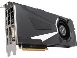 MSI GeForce GTX 1070 8GB GDDR5 PCI Express 3.0 x16 SLI Support ATX Video Card GTX 1070 AERO 8G