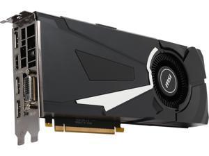 MSI GeForce GTX 1070 8GB GDDR5 PCI Express 3.0 x16 SLI Support ATX Video Card GTX 1070 AERO 8G OC