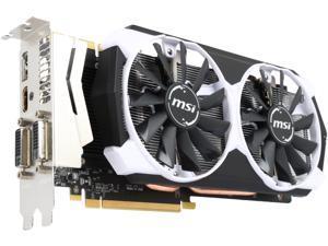 MSI GeForce GTX 970 4GB GDDR5 PCI Express 3.0 x16 SLI Support Video Card GTX 970 4GD5T OC