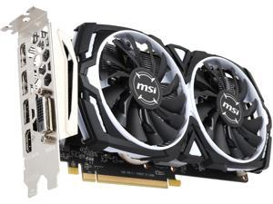 MSI Radeon RX 470 DirectX 12 Radeon RX 470 ARMOR 4G OC-R 4GB 256-Bit GDDR5 PCI Express 3.0 x16 HDCP Ready CrossFireX Support Video Card